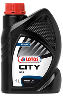 CITY GAS SJ SAE 15W40 1L