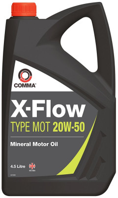 X-FLOW TYPE MOT 20W-50 4,5L