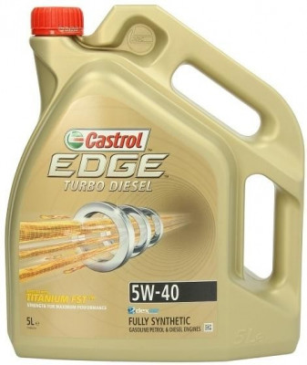EDGE TURBO DIESEL 5W-40 5L