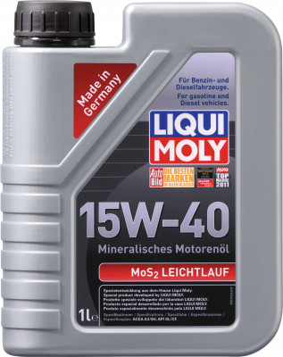 MOS2 LOW-FRICTION 15W-40 1L
